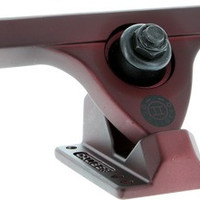 Caliber II Fifty 10/50 Midnight Satin Red Longboard Trucks
