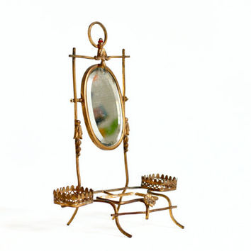 French Ormolu Vanity Mirror - Dressing Table Boudoir Mirror