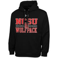 NC State Wolfpack Under Armour Performance Hoodie – Black