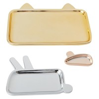 Emily + Meritt Animal Trays, Set of 3