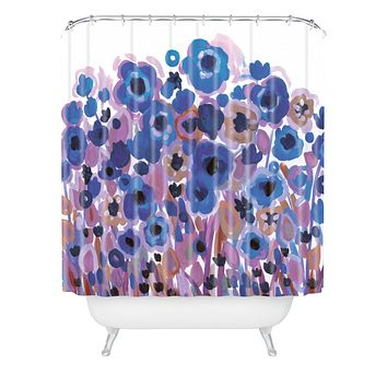 Natasha Wescoat Glowing Perussian Shower Curtain