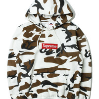 Supreme  flame men and women long sleeve sets