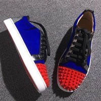 PEAPNW6 Cl Christian Louboutin Low Style #2060 Sneakers Fashion Shoes
