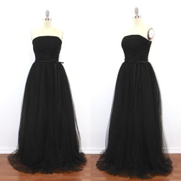 Audrey Wedding Tulle Dress - Maxi (assorted colors)