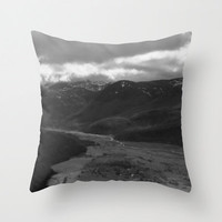 Mt Saint Helens Pillow Cover - Throw Pillow Cover Includes Pillow Insert - Photo Mt Saint Helens - Nature Pillow - Made to Order