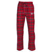 Kansas City Chiefs - Logo Plaid Lounge Pants