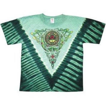 Grateful Dead Men's  Celtic Knot Tie Dye T-shirt Multi
