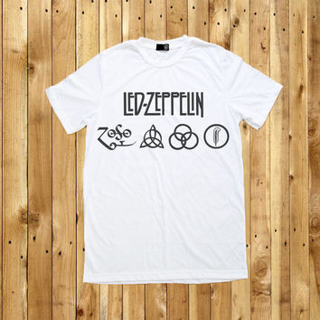 Led Zeppelin T Shirt Men Women Tshirt