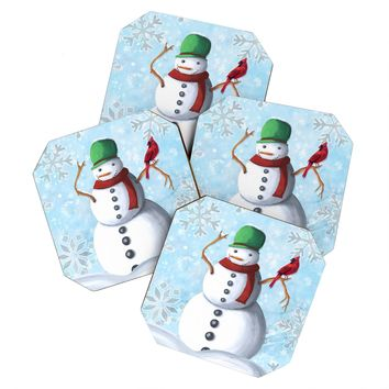 Madart Inc. Winter Cheer 2 Coaster Set