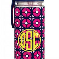 Jonathan Adler Water Bottle with Straw: Iron Gate
