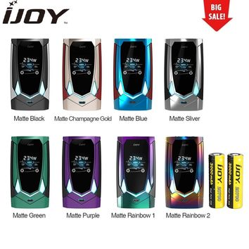 Hot Original IJOY Avenger 270 234W Voice Control TC Box MOD 6000mAh Battery with English Voice Control Vape Box Mod Vs Cylon Mod