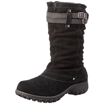 Khombu Womens Mallory Cuffed Waterproof Snow Boots