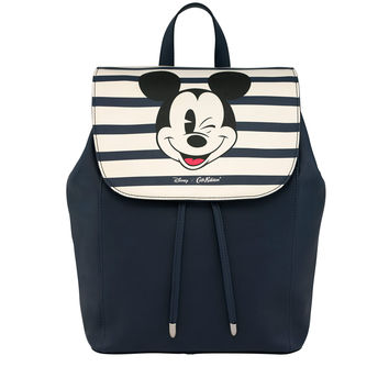 Mickey Stripe Leather Backpack | Bags | CathKidston