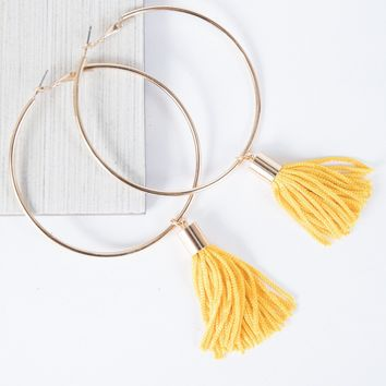 Shifting Tassel Earrings