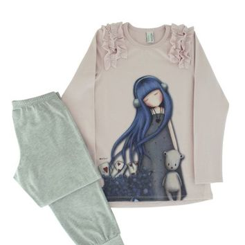 Gorjuss Girl's Pyjamas - Dear Alice from Santoro