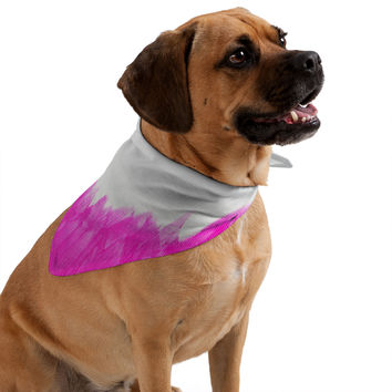 Allyson Johnson Pink Brushed Pet Bandana