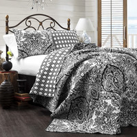 Callie 3 Piece Quilt Bedding SET