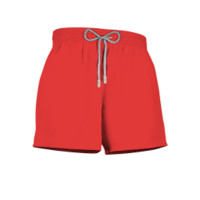 Solid Coral Short