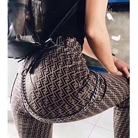 "Hot Sale ""FENDI"" Fashionable Women Men Casual Vintage Pants"