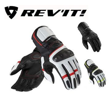 Winter leather Motorcycle REV'IT! RSR2 long gloves moto Revit REVIT RSR 2 motorbike mittens glove for motorcyclist protection