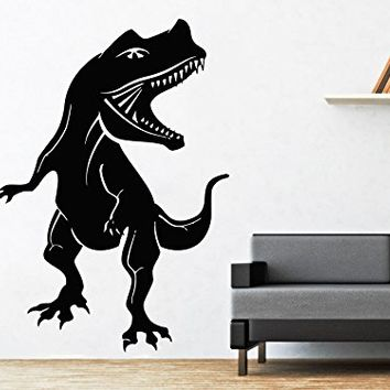 Wall Decals Dinosaur Predator Animal Vinyl Decal Sticker Home Interior Design Art Mural Nursery Home Bedroom Decor C254