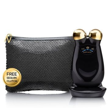 Nuface 22K Gold NuFACE Trinity in Chic Black