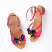 Fab Jewelled Heeled Sandal