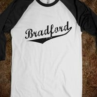 Bradford Chick-Unisex White/Black T-Shirt