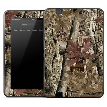 Brown Tree Camo Skin for the Amazon Kindle