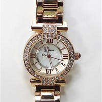 Rose Gold Stone Watch