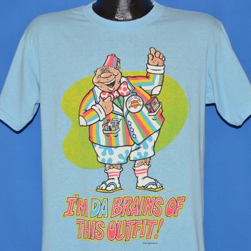 80s I'm Da Brains of This Outfit t-shirt Medium