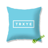 Trxye Logo Square Pillow Cover