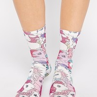 ASOS Ankle Socks With My Little Pony Print