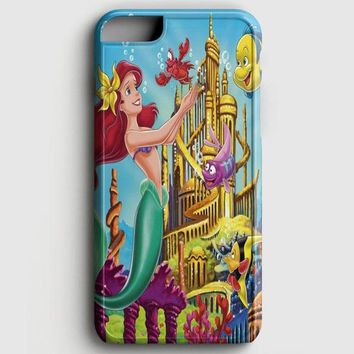 Ariel The Little Mermaid On Tiffany Blue iPhone 6 Plus/6S Plus Case | casescraft