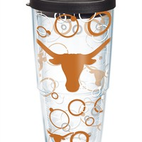 Texas Longhorns - Bubble Up Wrap with Lid | 24oz Tumbler | Tervis®