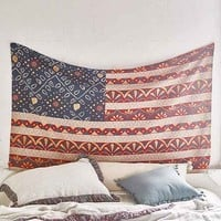 Magical Thinking Bandhani Americana Tapestry