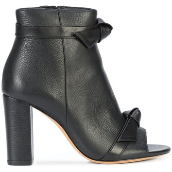 Alexandre Birman Open Toe Bow Boots - Farfetch