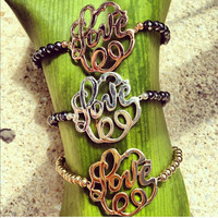 Filigree Love Bracelet