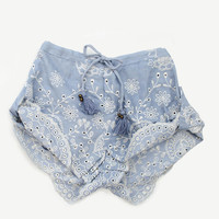 Casablanca Shorts - Chambray