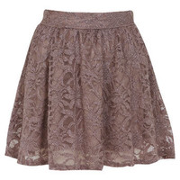 Petites Glitter Lace Skirt - Shorts & Skirts - Going Out