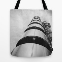 Lloyds building Tote Bag by Architect´s Eye | Society6