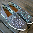 Demi Lovato Warrior Quote Toms shoes