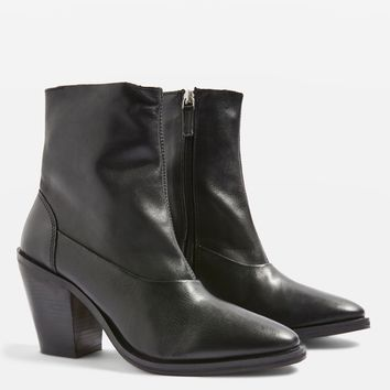 May 2 Leather Ankle Boots | Topshop