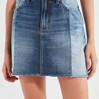 UO Spliced Denim Mini Skirt | Urban Outfitters
