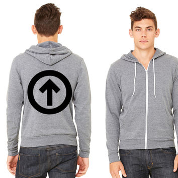Above The Influence Zipper Hoodie