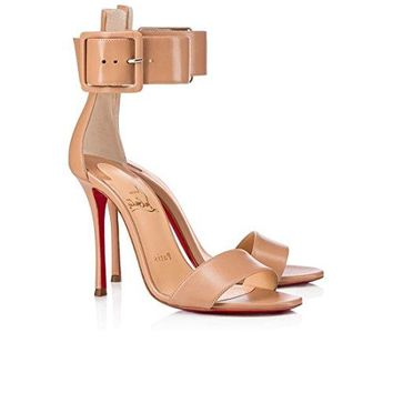 christian;louboutin New Fashion High-Heeled Sandals 120 mm