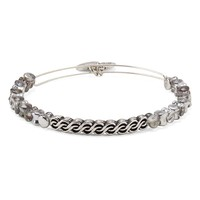 Slate Winding Road Beaded Bangle