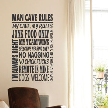 Man Cave Wall Art best man cave wall decals products on wanelo