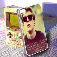 The breakfast club,brian quotes   -  iPhone 6, iPhone 6+, samsung note 4, samsung note 3,iPhone 5C Case, iPhone 5/5S Case, iPhone 4/4S Case, Durable Hard Case