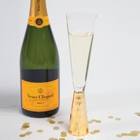 Champagne Glass in Gold by 8 Oak Lane